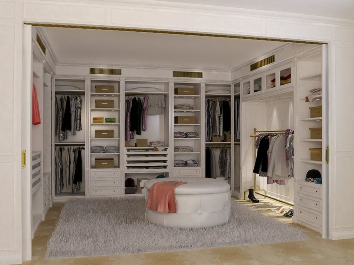 1001 jolies id es d 39 am nagement dressing pratique. Black Bedroom Furniture Sets. Home Design Ideas