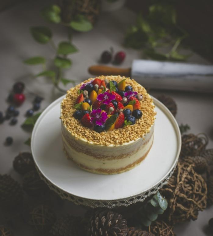 Beau gâteau d'anniversaire adulte gateau facile et original