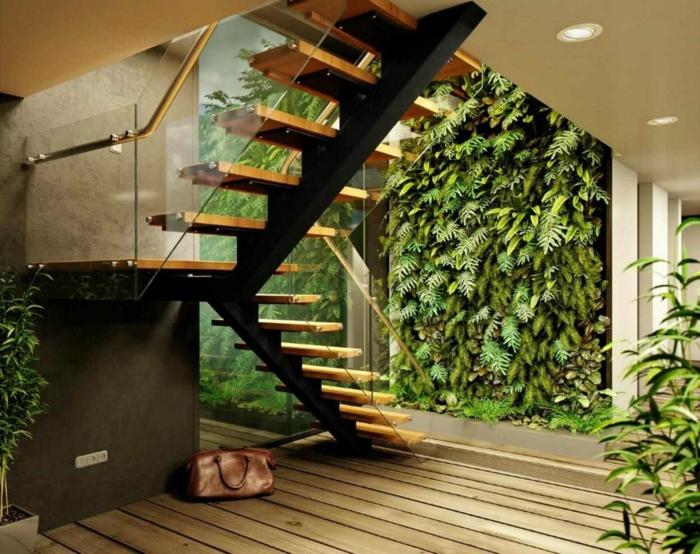 1001 id es d co originales pour un mur v g tal int rieur. Black Bedroom Furniture Sets. Home Design Ideas