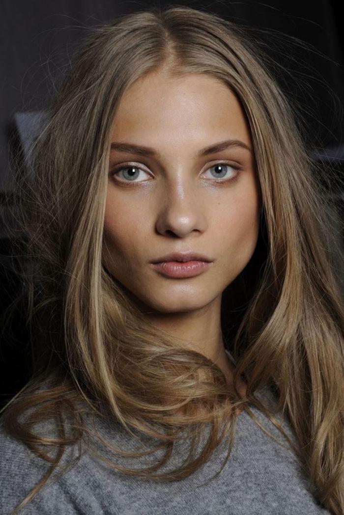 couleur de cheveux, quelle couleur de cheveux choisir pour peau matte et yeux bleus
