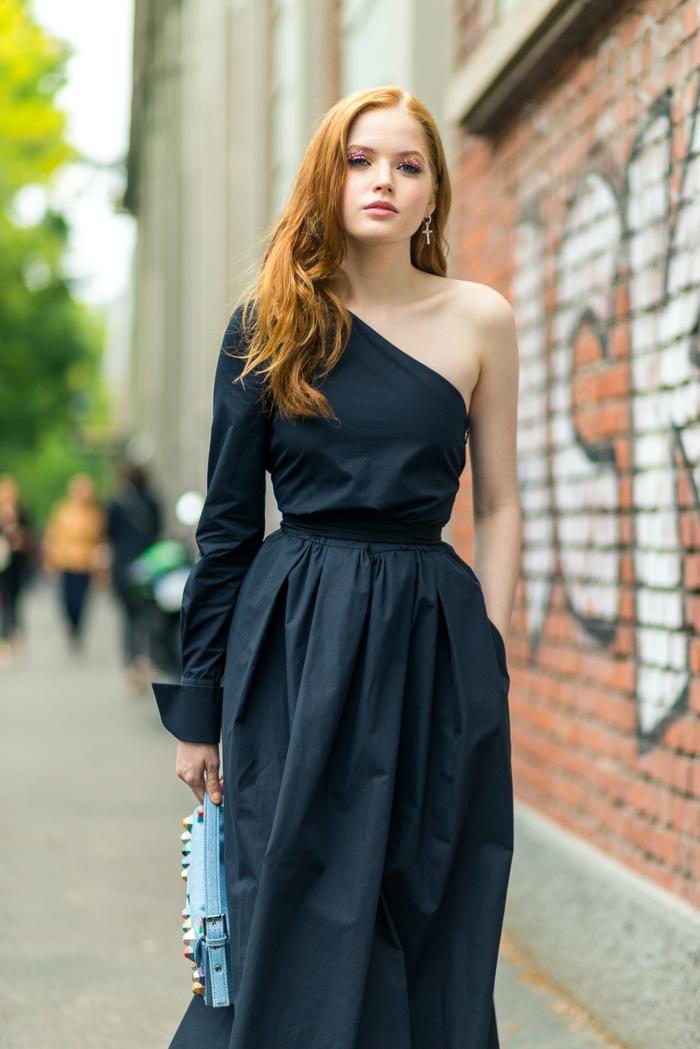Une robe manche longue zara femme robe tenu femme robe avec une manche