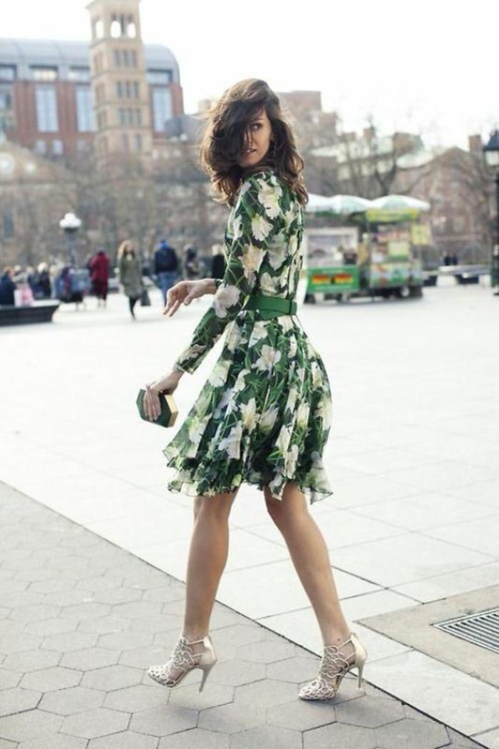 Tenue de soirée femme pantalon pour mariage robe printemps cool idée robe courte avec manches