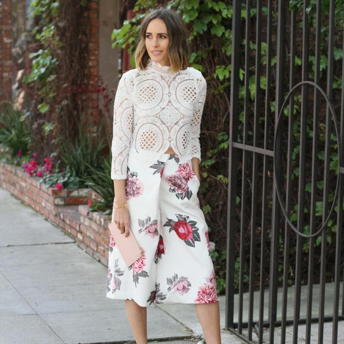 Etre une femme bien habillée tenues de soirée femme culottes modernes top dentelle