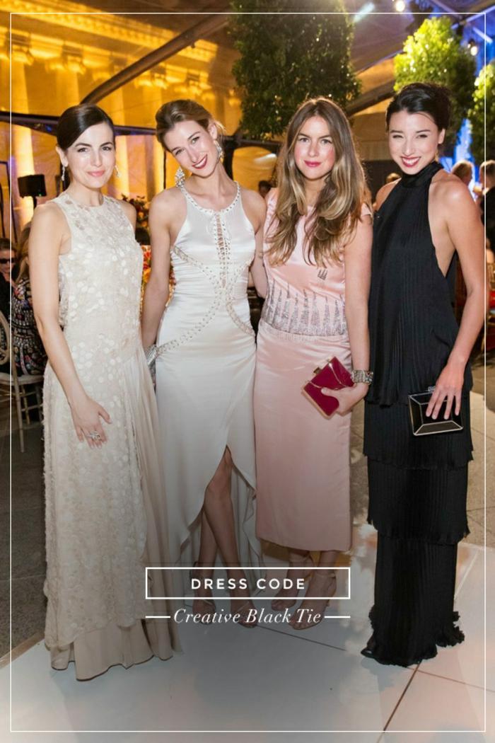 Ceremonie tenue de soirée décontractée femme comment s'habiller pour une soirée habillée