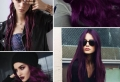 La coloration phare de 2018 – les cheveux prune