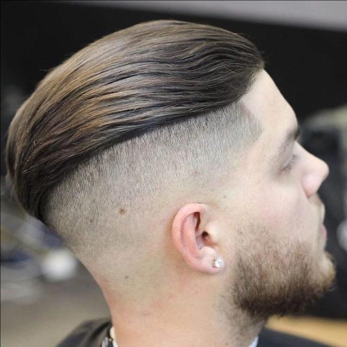 coupe de cheveux homme arriere