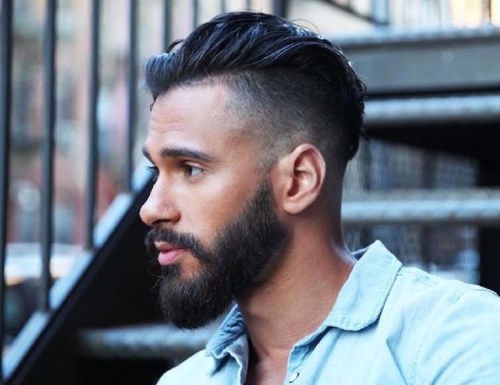 dégradé cheveux homme coupe mode tendance hipster