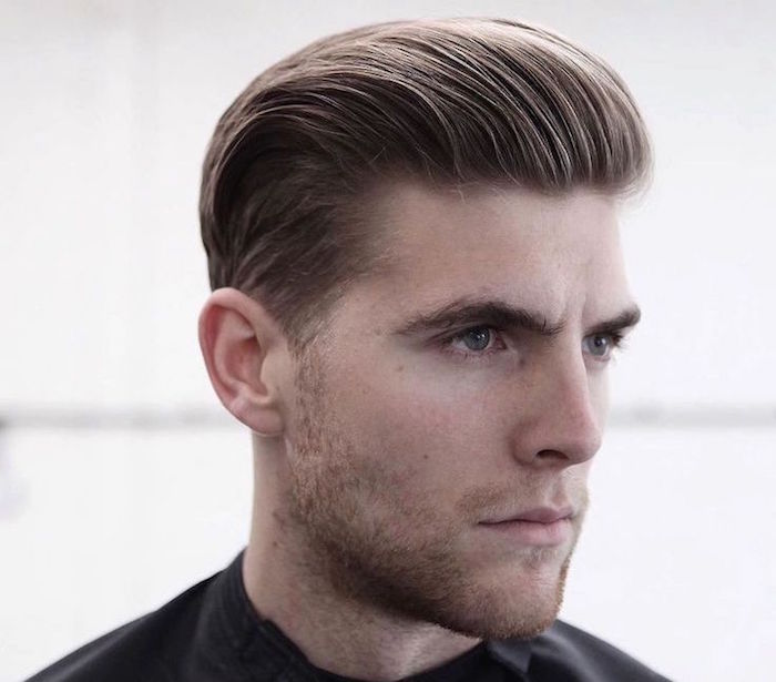 coiffure homme arriere
