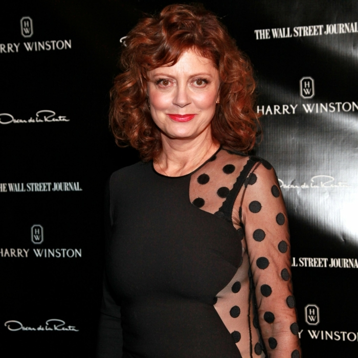 coiffure femme mi-long, une femme stylée à chaque âge, Susan Sarandon