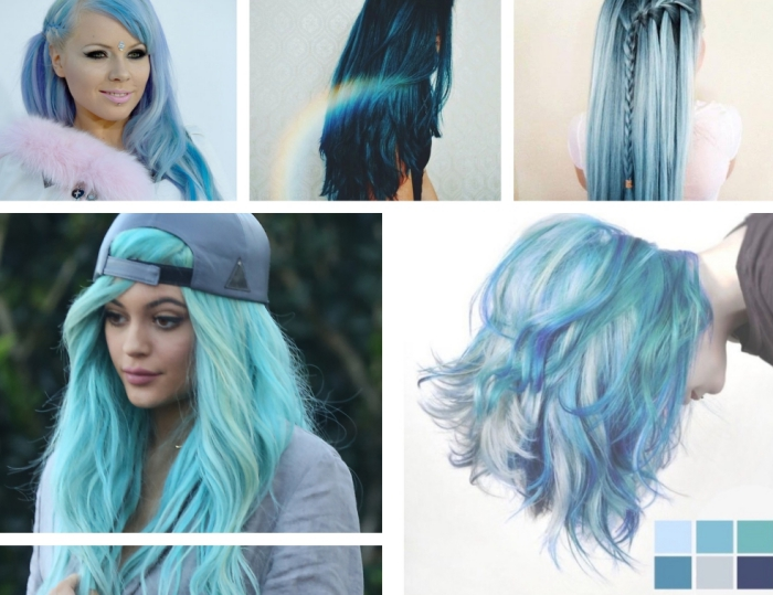 Tresses Tie And Dye Gris