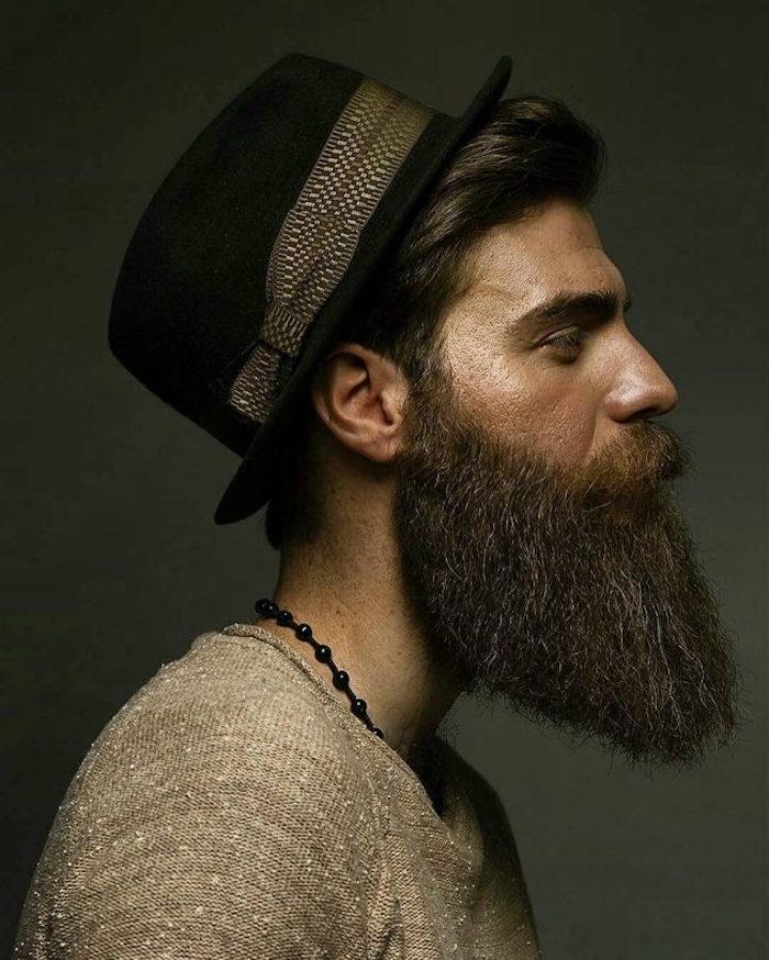 comment tailler sa barbe en pointe et entretenir style hipster bobo boheme homme