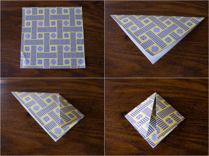 pliage origami bateau pour la décoration de la maison, comment réalise une guirlande de bateaux en papier