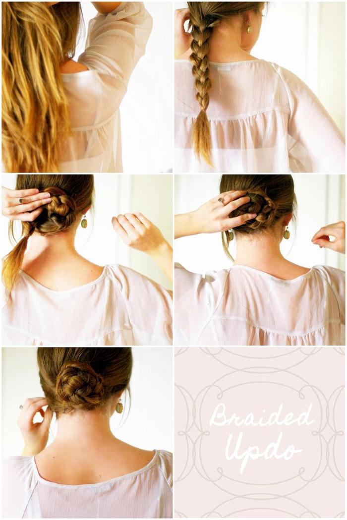 comment faire un chignon facile  u2013 tutos coiffure pour toutes les occasions  u2013 obsigen