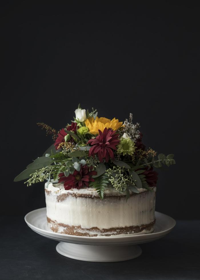 Les gateaux les plus jolis gateau anniversaire personnalisé fleurs pour décoration pour une fleuriste gateau