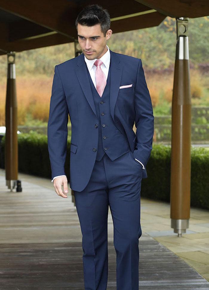 gilet homme costume brice bleu marine smoking mariage