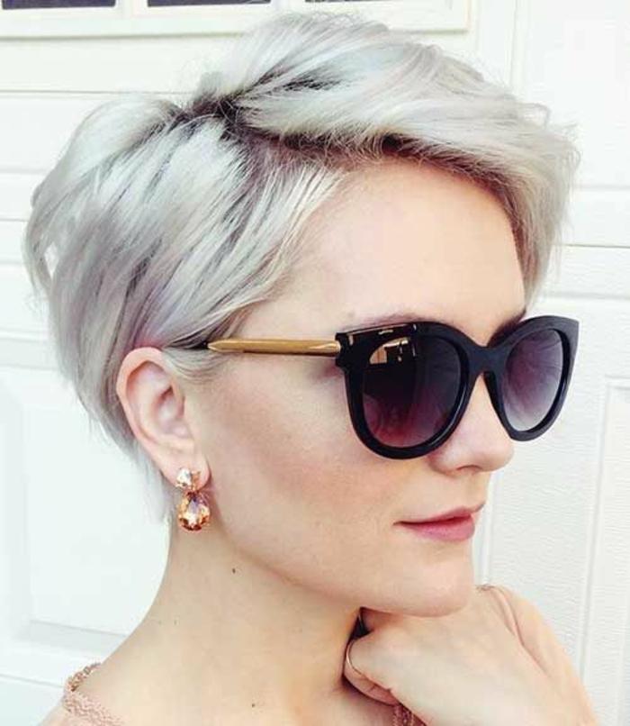 1001 id es pour une coiffure pour visage ovale les for Lea michele coupe de cheveux