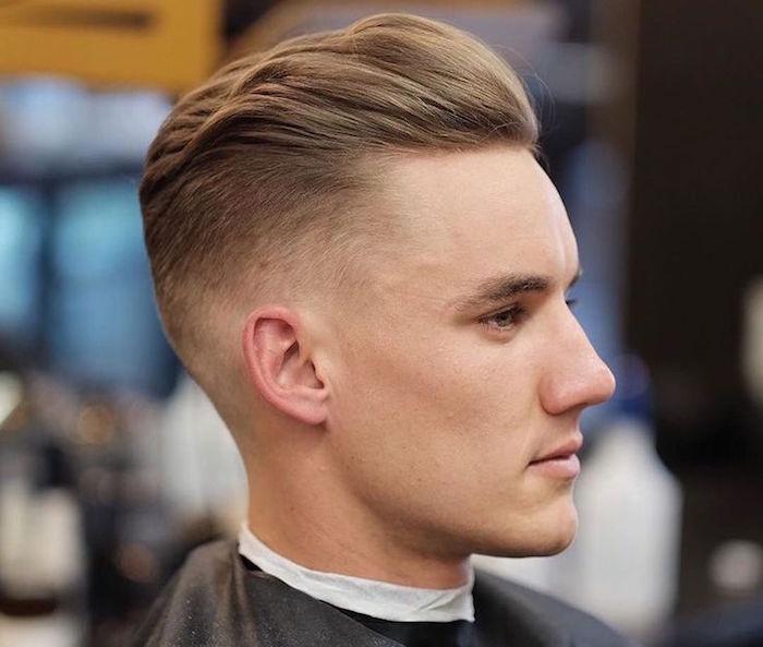 coiffure homme blond 2018