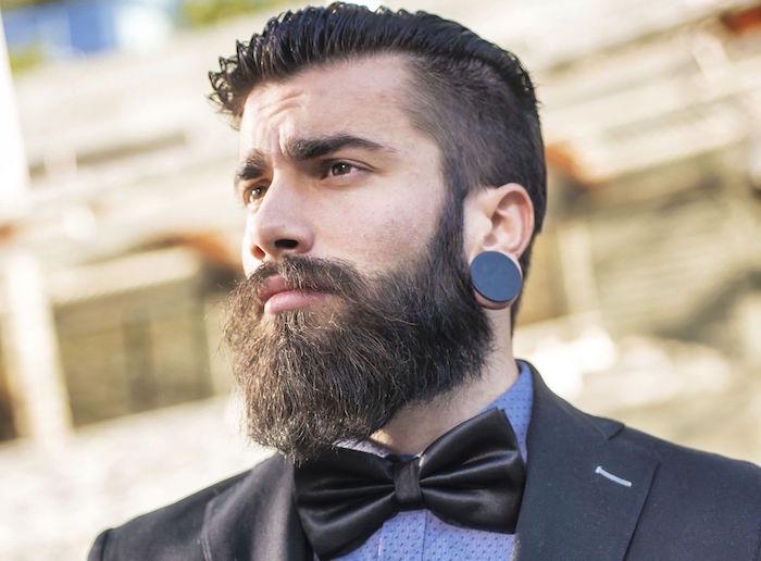 idée comment faire pousser la barbe et coupe hipster