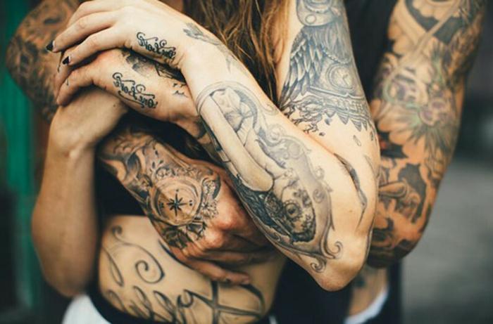 Tattoo aigle de sang tatouage viking signification tatouage cool couple tatoués