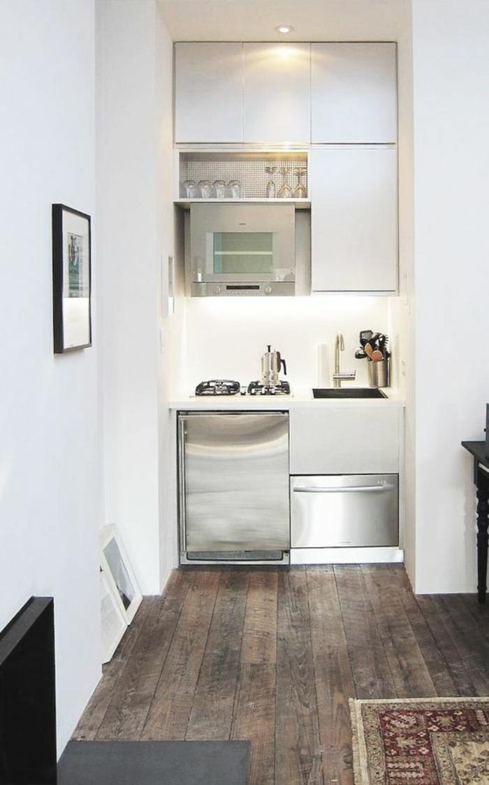 1001 Idees Pour Une Petite Cuisine Equipee Des