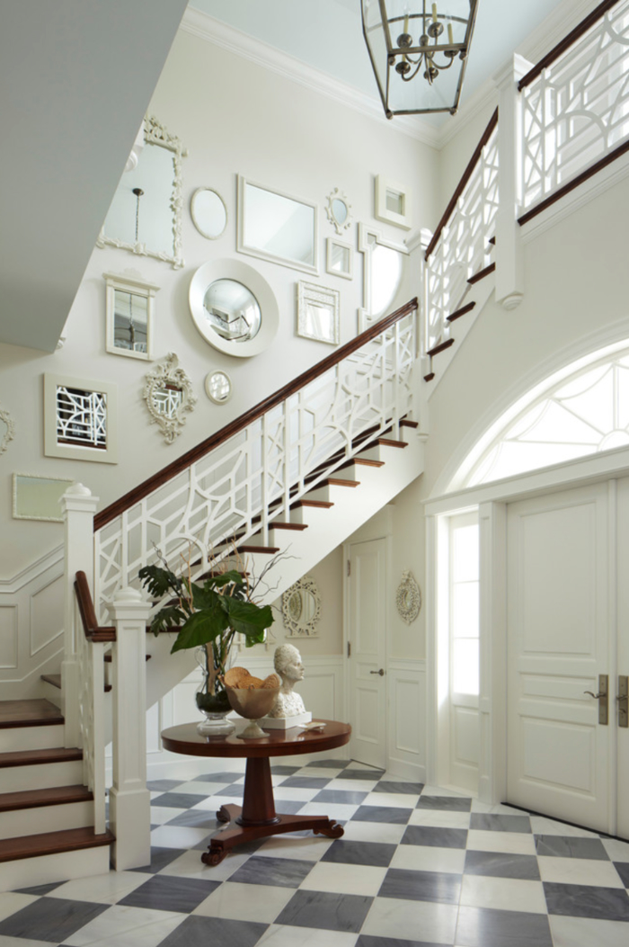 Awesome Decoration De Cage D Escalier Photos  Design Trends