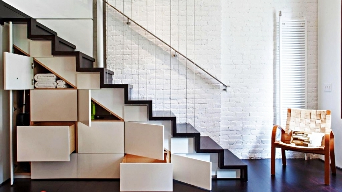 amenagement bureau sous escalier bureau sous escalier bureau sous escalier dun wc bureau sous. Black Bedroom Furniture Sets. Home Design Ideas