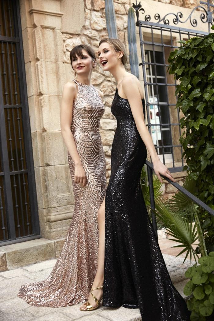 Robe de cocktail robes de soirée robe de ceremonie bal de promo robe longue paillettes comment s habiller pour une soirée réveillon