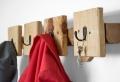 Porte manteau fait maison – crochet à la main