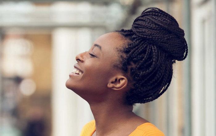 tresse africaine comment faire chignon avec tresses