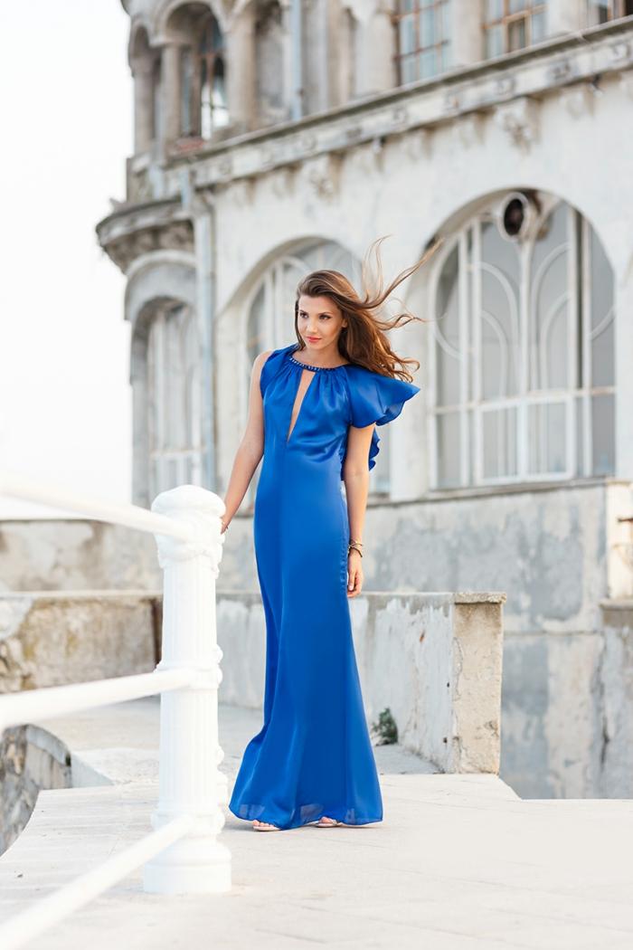 Quelle tenue soirée femme robe longue s habiller chic