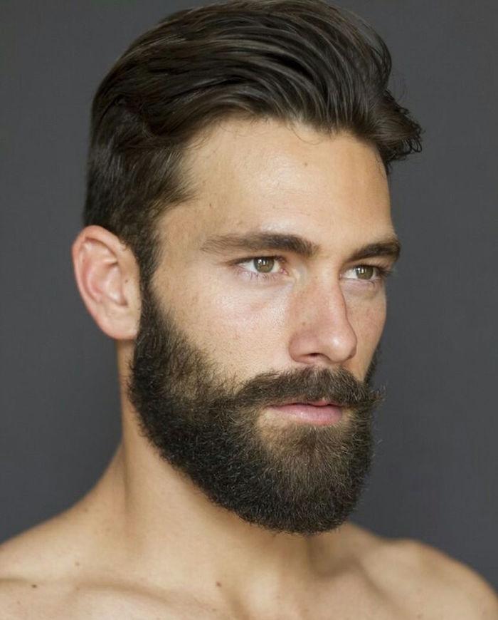 tailler barbe courte mi longue coupe cheveux homme