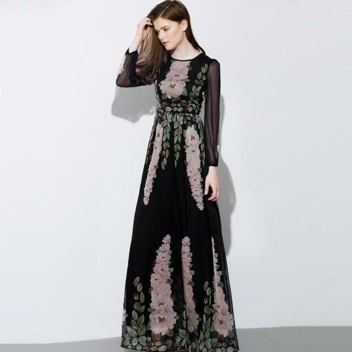Une robe manche longue zara femme robe tenu femme longue robe manche longue decontracte chic