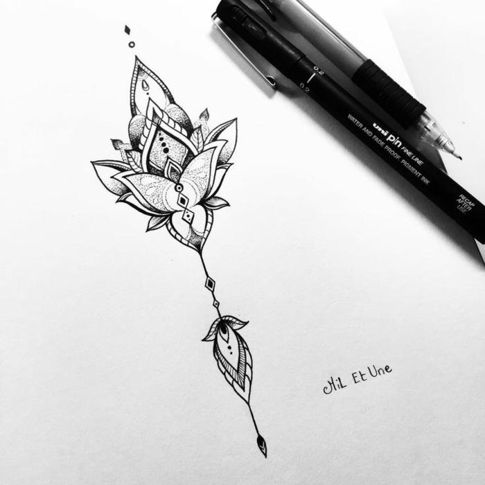 Tatouage duo tatouage biceps tatouage cote homme lily idee originale dessin tatouage joli