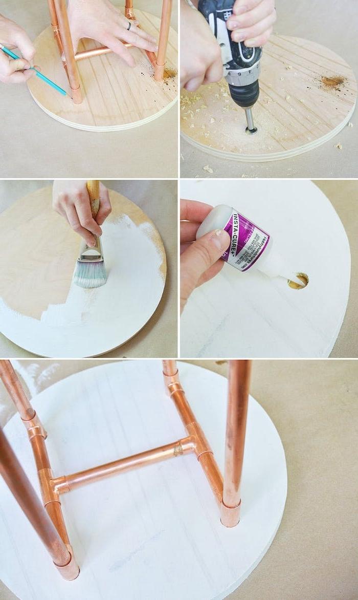 1001 + tutos et idées top pour fabriquer une table basse # Fabriquer Une Table Basse En Bois