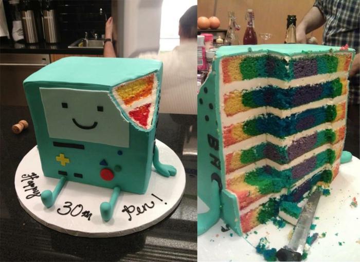 Gateau anniversaire simple et beau idée gateau anniversaire ado