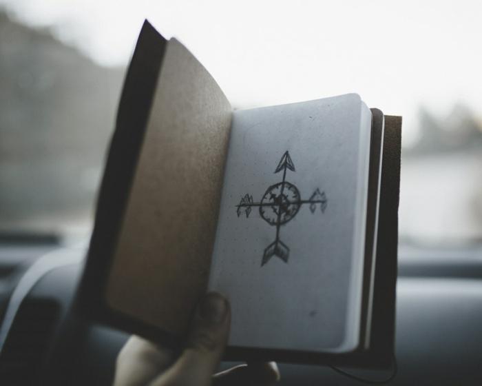 Beau tatouage feminin tatouage minimaliste lequel choisir compas dessin à se faire tatoué