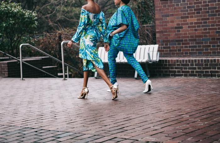 Fashion tenue de soirée femme ronde tenue tendance chaussures talon