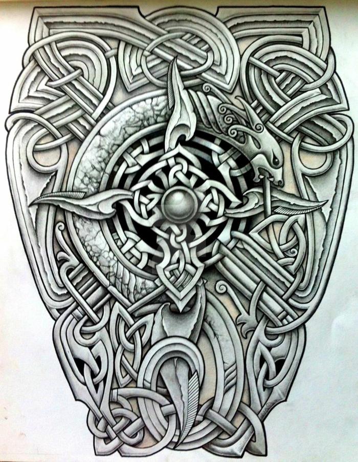 Joli tatou viking tatouage idée quel tatouage choisir