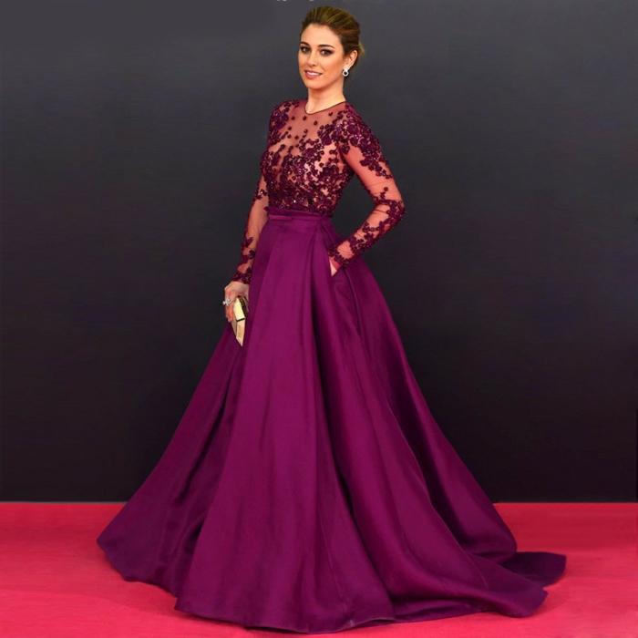 Fashion Week Robe Longue