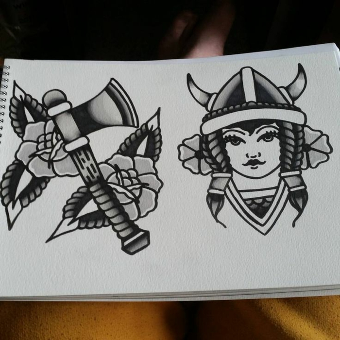 Quel symbole famille tatouage idée tatouage homme viking femme