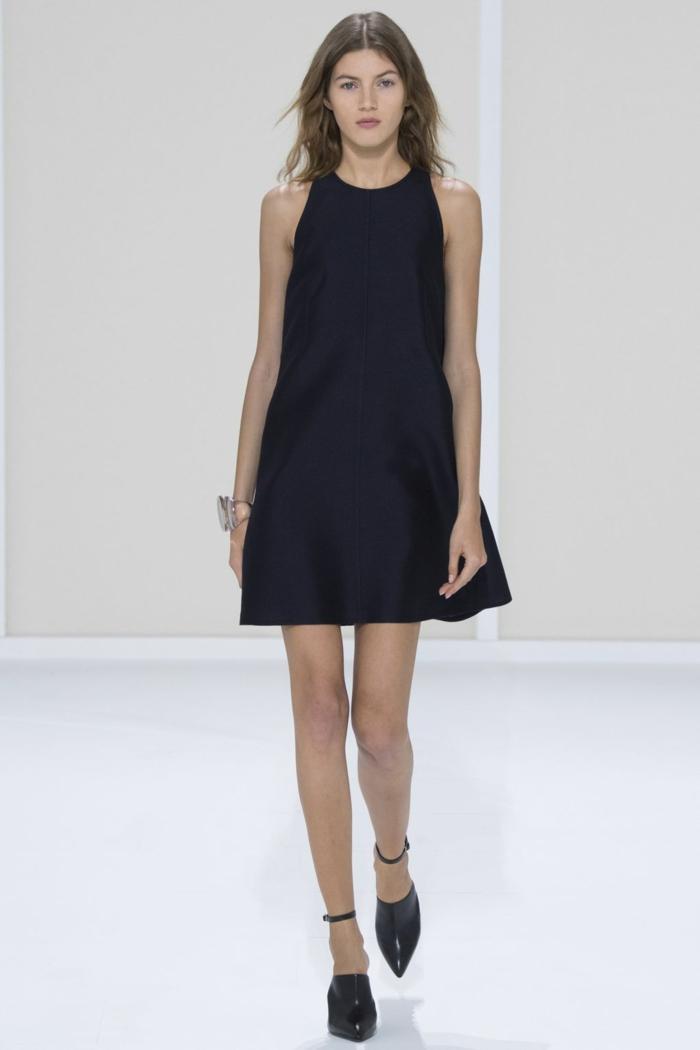 Robe Bleu Tendance Fashion