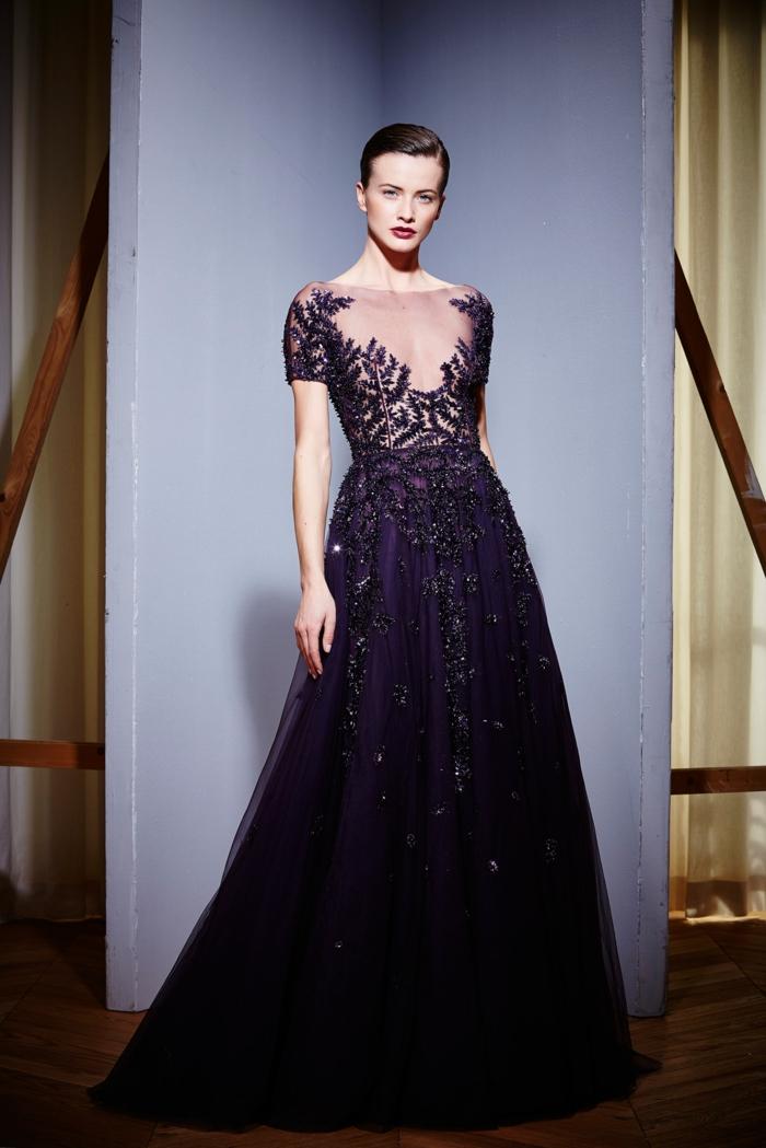 Ceremonie tenue de soirée décontractée femme longue gala robe hiver collection