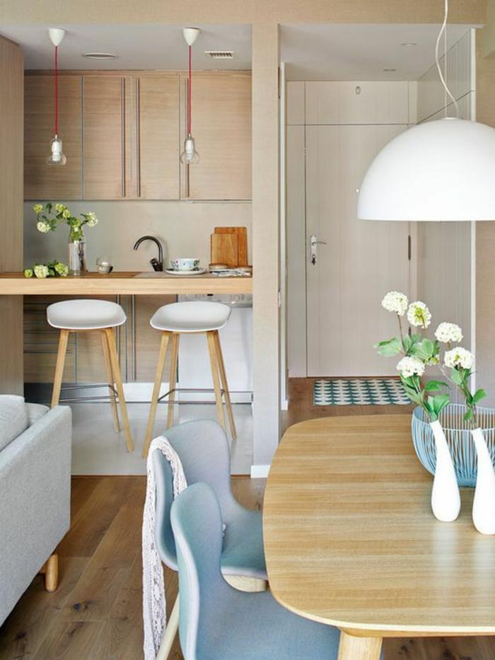 1001 id es pour une petite cuisine quip e des int rieurs gain de place. Black Bedroom Furniture Sets. Home Design Ideas