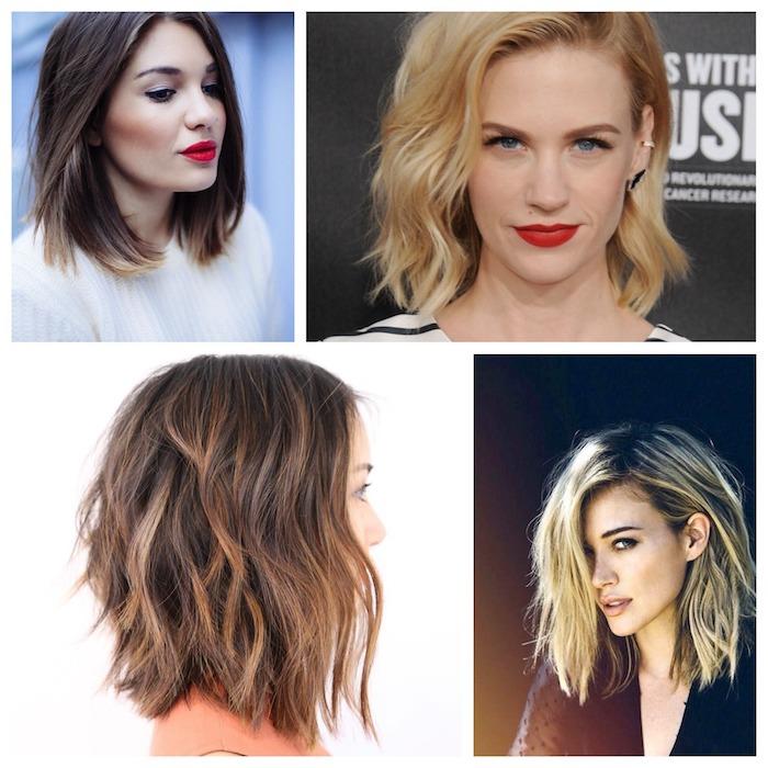 Coiffure femmes cheveux fins