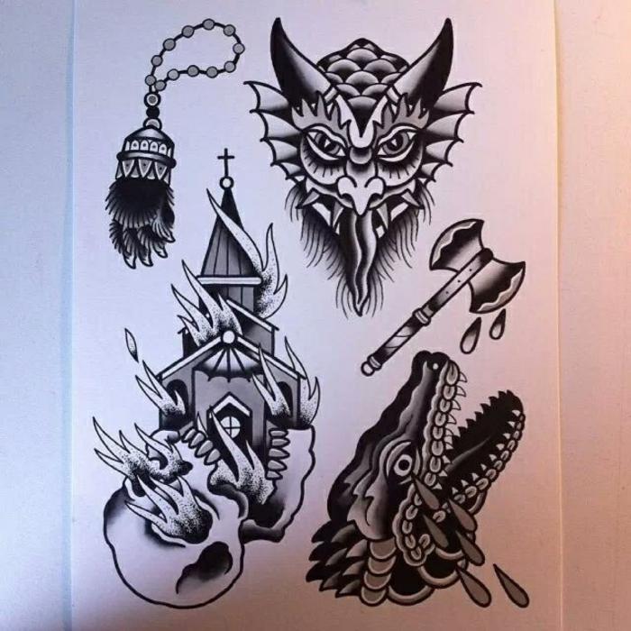 Schismatiques symbole nordique tatouage signification force tatouage