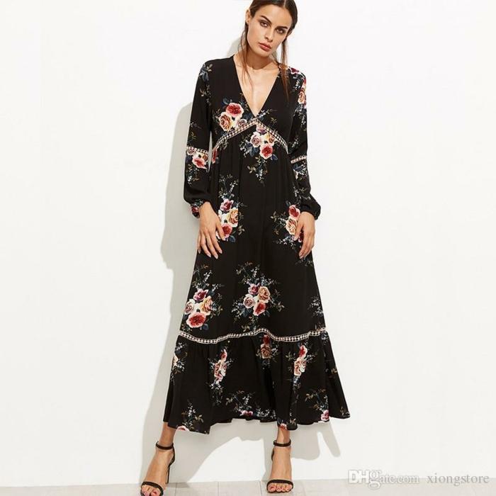Bon prix robe robe longue été robe zara robe ete 2018 sandales