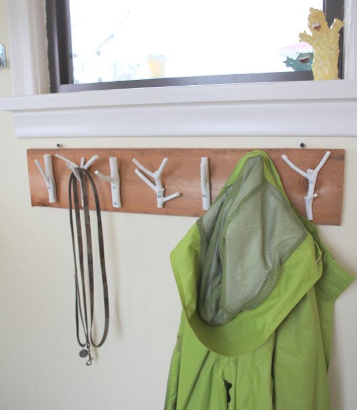 1001 id es tuto porte manteau fait maison crochet la main. Black Bedroom Furniture Sets. Home Design Ideas