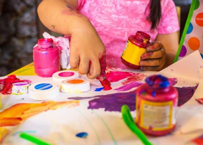 Magasin loisirs créatifs comment réaliser une idée créative peindre