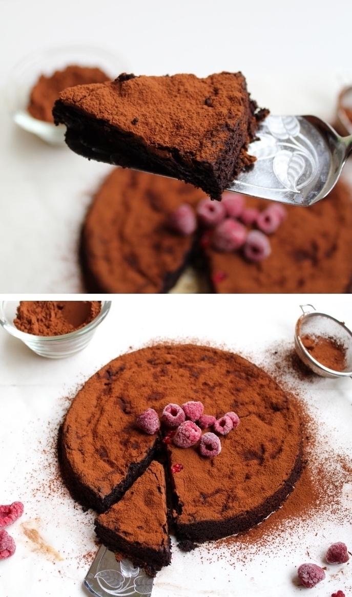 comment faire un gateau au chocolat moelleux sans farine, recette de gâteau sans gluten