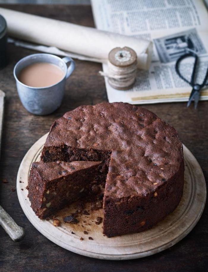 recette gâteau au chocolat italien pour la fête de noël, recette traditionnelle de noël